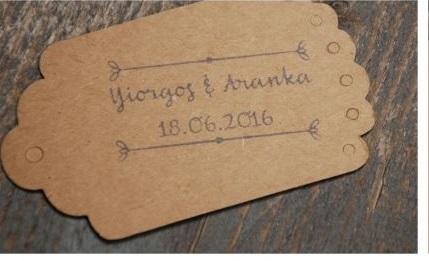 Stempel bruiloft